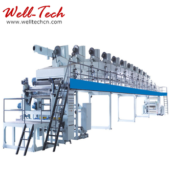 release layer paper coating machine