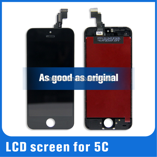 low price china mobile phone parts lcd for iphone 5c lcd,touch screen display