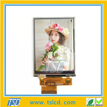3.2 inch 240 x 320 Transparent lcd ZIF connector with RTP