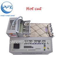 PFL-890 Automatic Computer Nylon Tape Cutting Machine and Nylon Sealing Machine With Hot Blade
