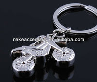 stock cross-country motorcycle shaped keychain key chain key ring keychain key holder