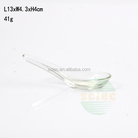 wholesale glass material spoon