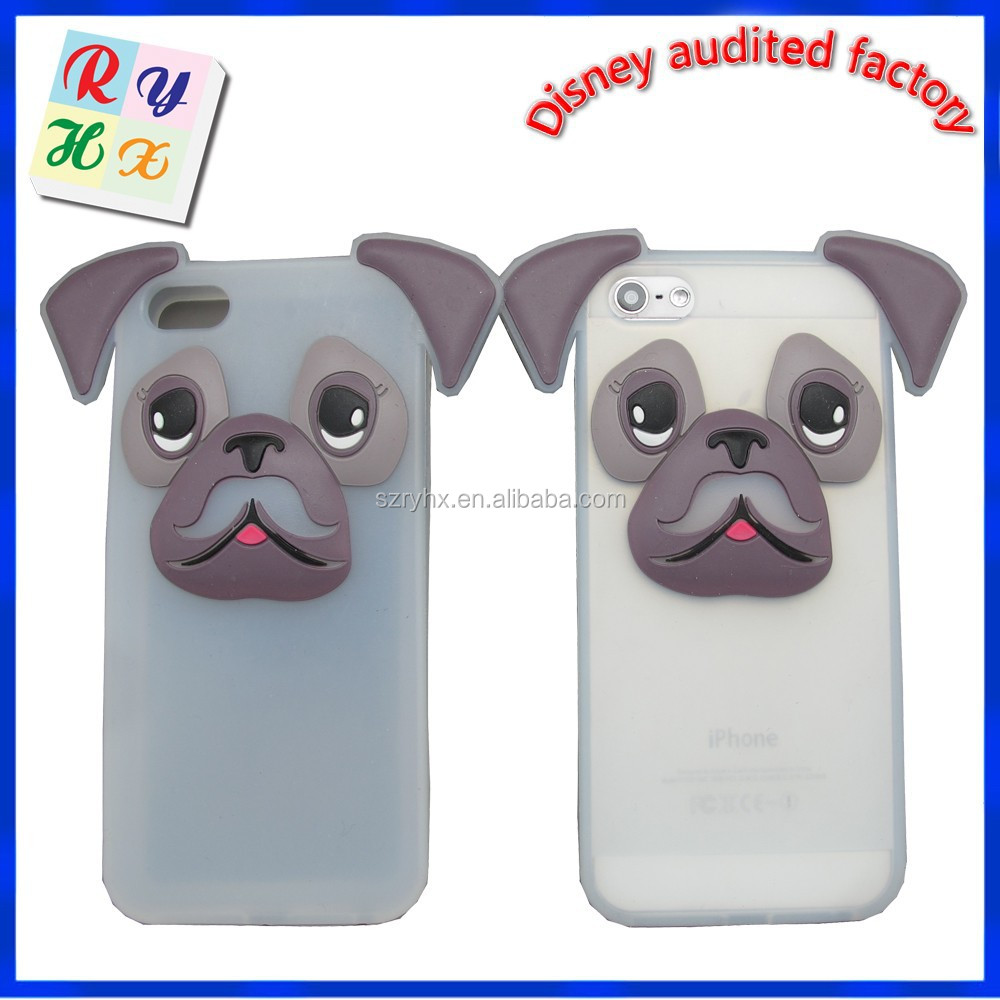 Hot new design case for iphone 5 case for various mobile phone phone case with popular 3d images