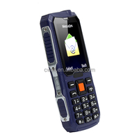 Qtech Q49 Single SIM Card CDMA800MHz Highlight Torch 4800mAh long battery CDMA mobile small size
