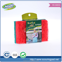 daily consumer products scouring pad cleaning sponge