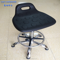 High quality PU top lab stool for school laboratory
