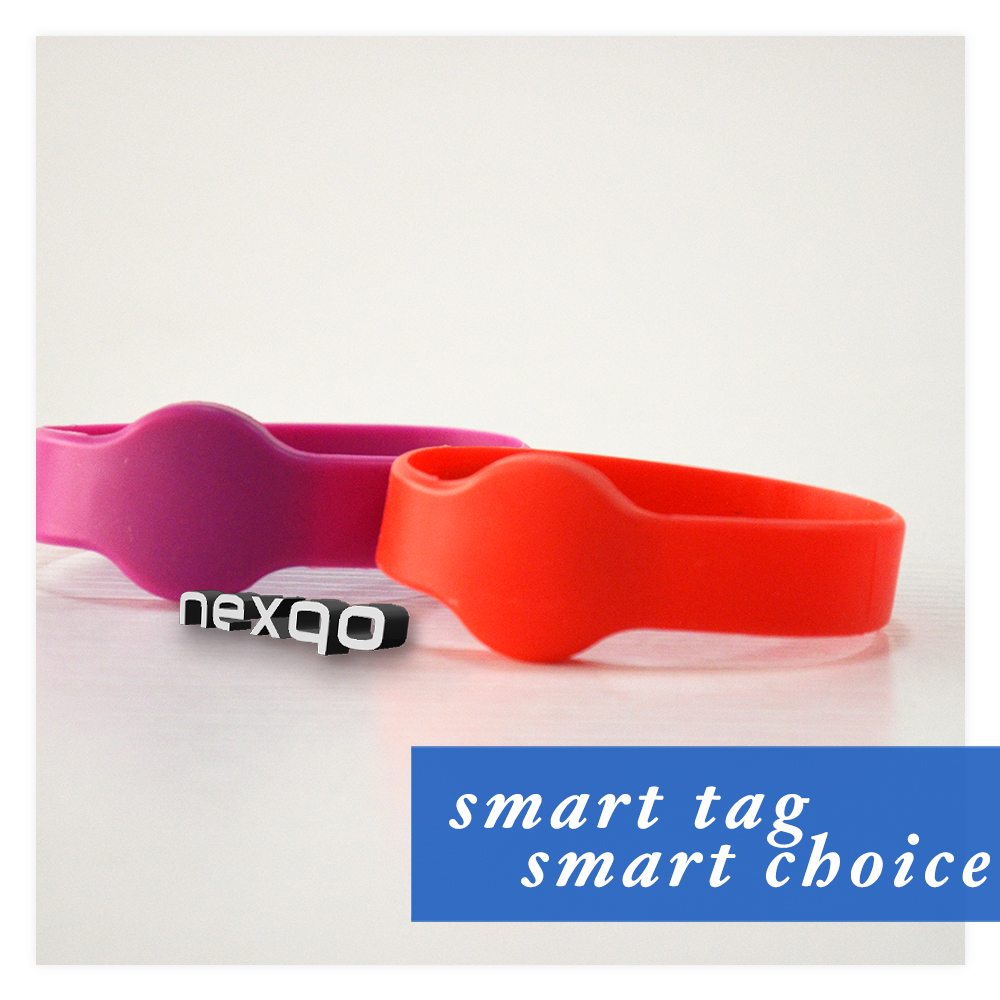 Low price Promotional professional cheap silicone nfc smart wristband