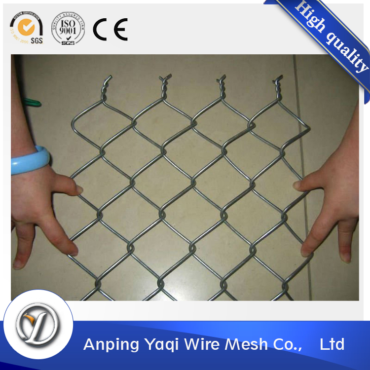 best seller low price school use rust prevention galvanized chain link fence
