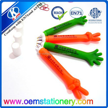 interntaional trade promoters highlight touch ball pens/office pen