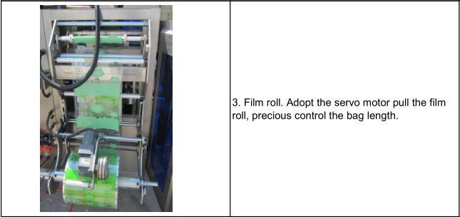 Screw feeder 1kg bag packing machine vertical packaging machine bagging machine