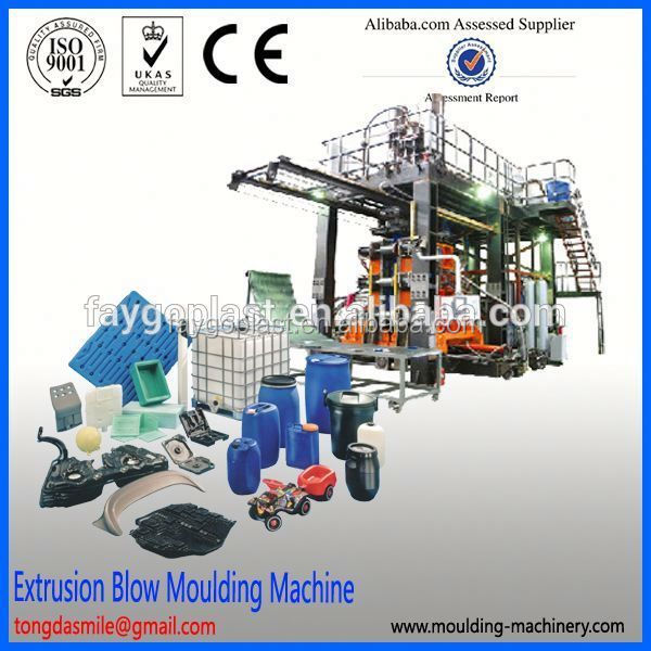 Fully automatic blow molding machine 220 liter blow mould(plastic barrel) shanghai blow molding machine