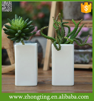 Manufacture OEM home Decorative Flower Pot wholesale ceramic herb pots