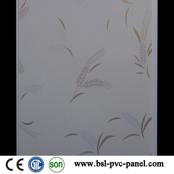 Building material new design hot stamping pvc ceiling panel in china