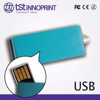 Wholesale Custom Print Promotional Metal Pen Drive
