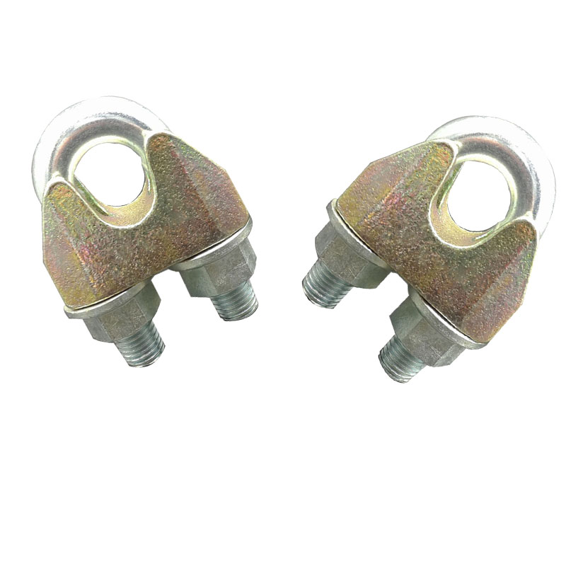 Metal fasteners din1142 wire rope clips