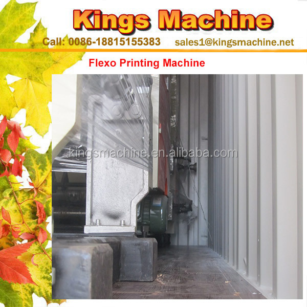 Taffeta Clothing Label Flexo Printing Machine(Ruian Kings brand)