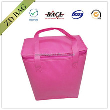 blank pp non woven cooler bag for ice cream 017