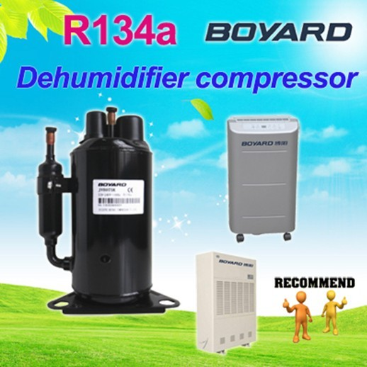 heat pump compressor condenser dehumidifier dryer home appliances with Rotary r410a ac compressor
