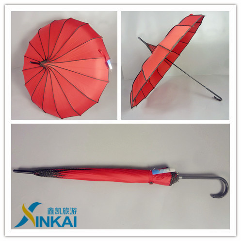 fashion bohemian style umbrellas with full color printed Honsen