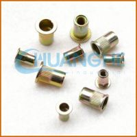 made in china blind threaded inserts for plastic