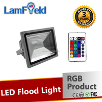 Low Energy Consumption LED Light 30W SMD RGB LED Flood Light With IR Control
