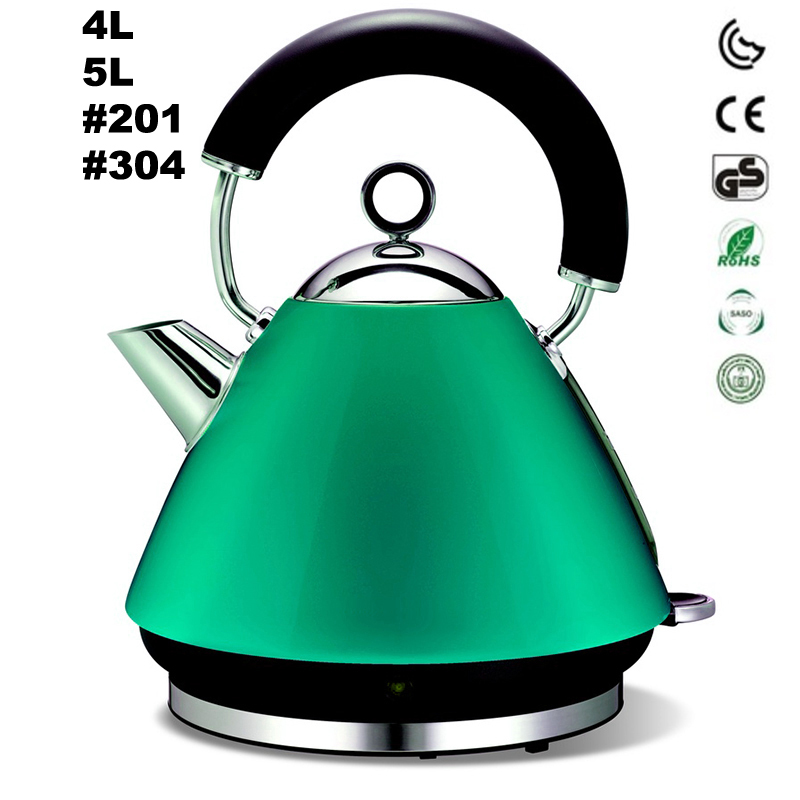 Hight quality wholesale stainless steel home appliances electric kettle for hotel