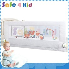 Child Security Aluminum Alloy Baby Collapsible Bed Rails