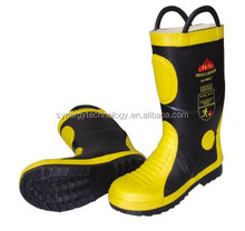 high temperature resistant fire fighting working boots