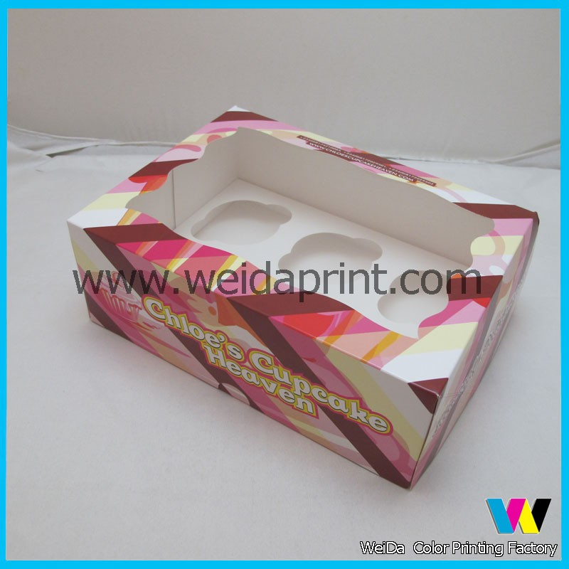 custom cupcake boxes inserts wholesale