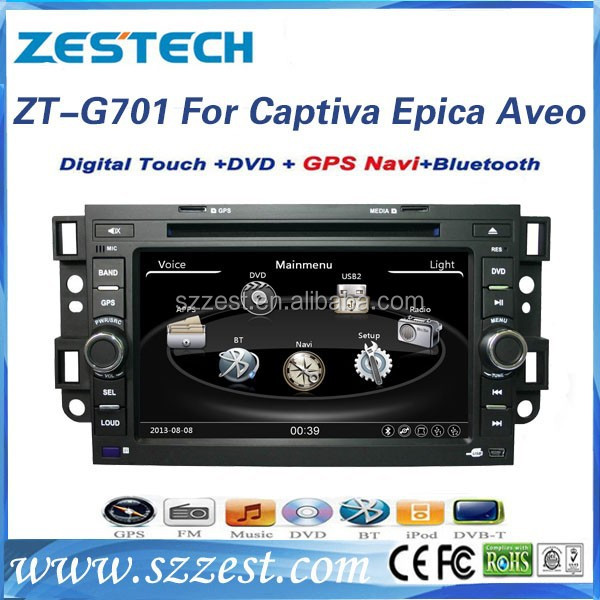 ZESTECH Factory OEM 8'' HD touch screen Car receiver for Chevrolet Captiva Epica Aveo Radio with GPS Navigation system