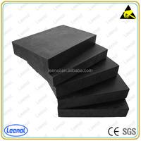 Customized Black Conductive PU Foam for storage electronic component