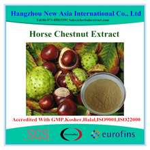Aescin 20%-98% Horse Chestnut Extract With Kosher Halal ISO22000 Certificate