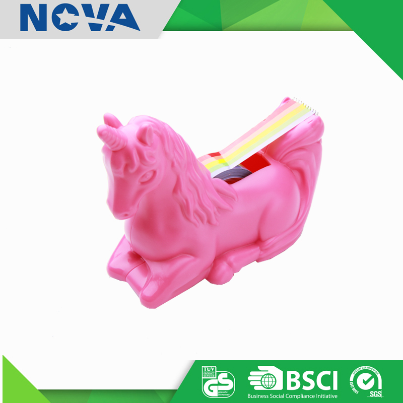 Promotional decorative tape dispenser