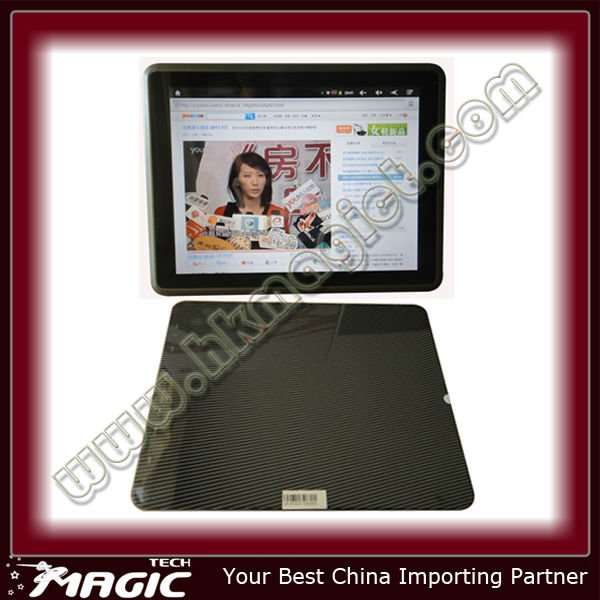 9.7 inch tablet with Google android 2.2