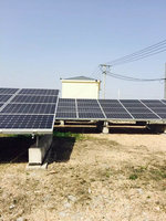 High Efficiiency Solar PV Station, Grid Tied Solar Power Plant 1MW