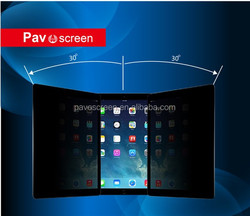 For Ipad,or laptop,zero bubble and anti-shatter screen protectors anti-spy Super clearTempered Glass Screen