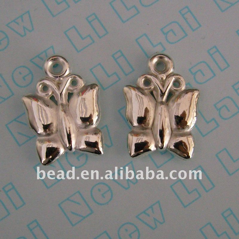 butterfly plastic charm ,CCB(ABS) 5128aa03 jewelry bead