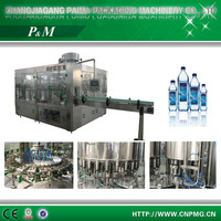 3-in-1 Automatic bottled pure mineral water filling equipment/machine/line