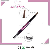 OEM Automatic Rotation Waterproof Eyebrow Pencil with Brush