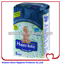 Happy European baby diapers factory