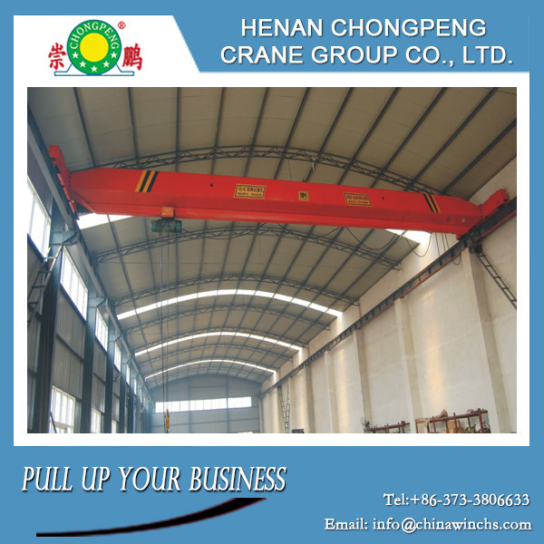 China -5T--22.5m High-strength Single beam overhead crane with a reasonable cost