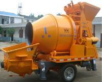 HBT20-10D motor trailer small concrete pump