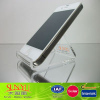 Clear Acrylic Desktop Cell Phone Holder