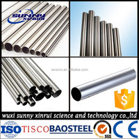 304 stainless steel pipe tube sizes