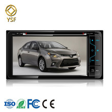 Car DVD Supplier 6.2inch Touch Screen 2din Car DVD Player for Toyota Celica Crown