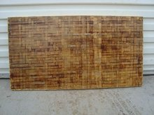 Bamboo pallet for cement/hollow brick making machine