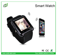 for iphone 6 6s 5 5s phones dual sim bluetooth android U8 smart watch smartwatch2015