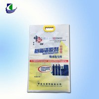 Factory price , Laminated Material resealable plastic bags with handle
