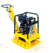 reversible bituminous mixture marshall vibrating plate compactor