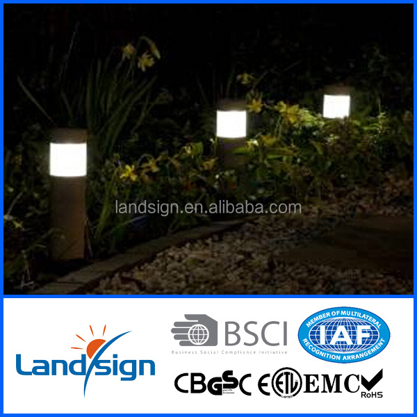 hot new product solar panel garden decor lamp light led path stake lighting for outside garden